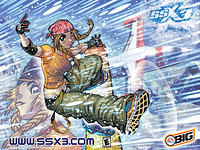 SSX 3 Adam Warren Desktop Gallery 01